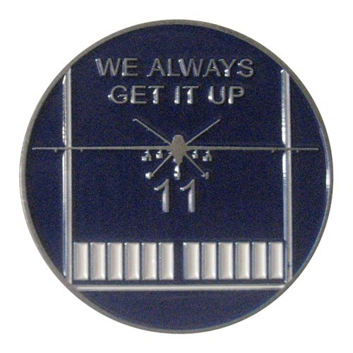 11 ATKS Challenge Coin - View 2