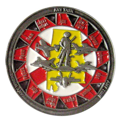187 MXS Challenge Coin - View 2