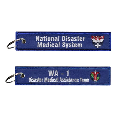 NDMS WA-1 Disaster Medical Assistance Team Key Flag