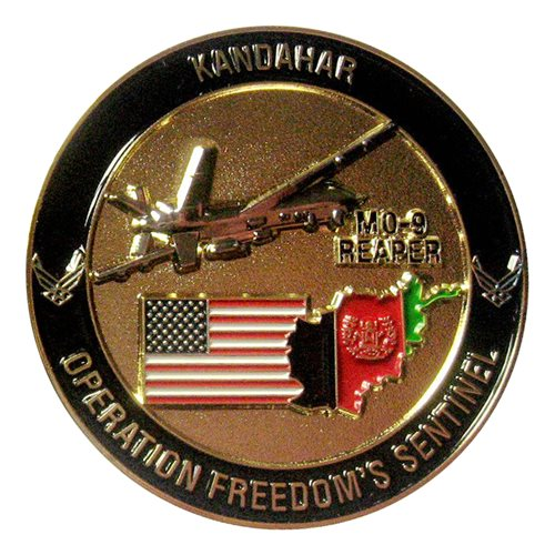 62 EATKS Night Hunters OFS Challenge Coin - View 2