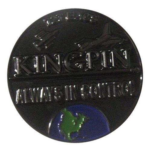 727 EACS Kingpin Always in Control Challenge Coin - View 2