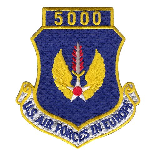 USAFE 5000 Hours Patch