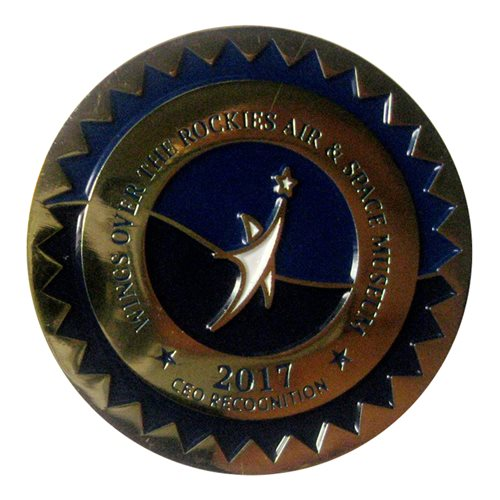 Wings Over the Rockies Air and Space Museum 2017 Challenge Coin - View 2