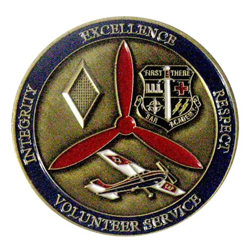 CAP Michigan Wing Commander Challenge Coin  - View 2