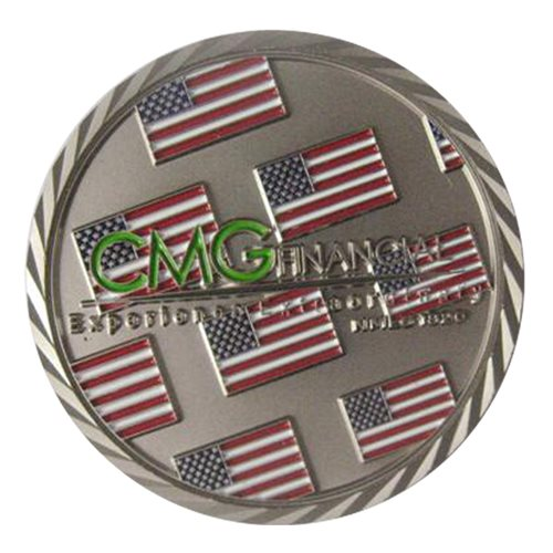 CMG Financial Challenge Coin