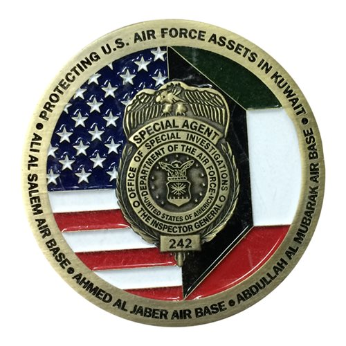 AFOSI Det 242 Challenge Coin