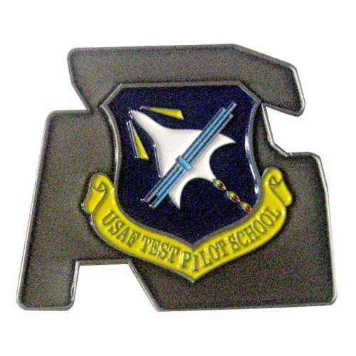 USAF TPS Class 17A Challenge Coin  - View 2