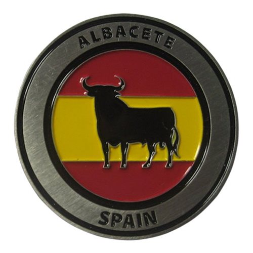 TLP Spain Challenge Coin - View 2