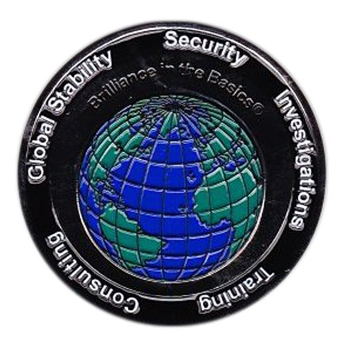 TigerSwan  Inc. Challenge Coin - View 2