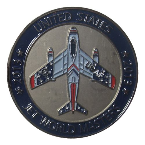 Team USA 2015 Jet World Masters Coin - View 2