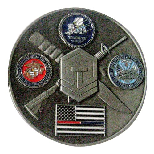 Tactical Ops Brewing Inc Challenge Coin - View 2