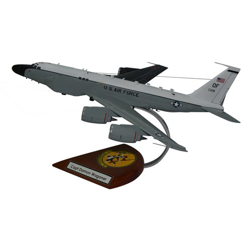 Design Your Own RC-135 Rivet Joint Custom Airplane Model - View 3