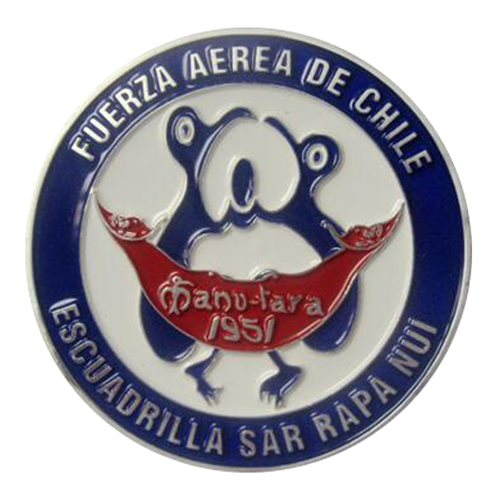 Easter Island Search & Rescue SQ Challenge Coin