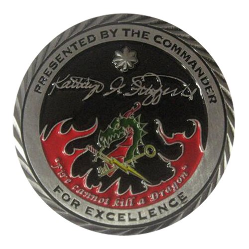 315 COS Dragon Challenge Coin - View 2