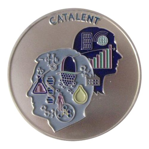 Catalent Pharma Solutions Challenge Coin