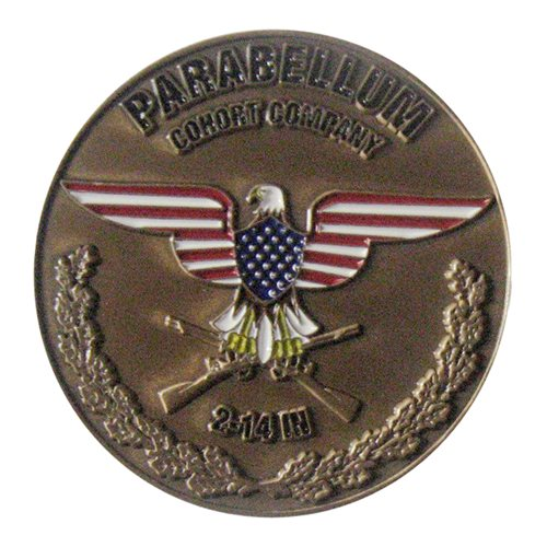 C Co 2-14 IN Challenge Coin