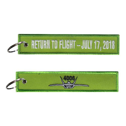 411 FLTS F-22 Return to Flight Key Flag
