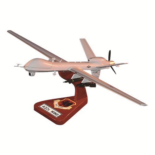 432 WG MQ-9 Custom Airplane Model