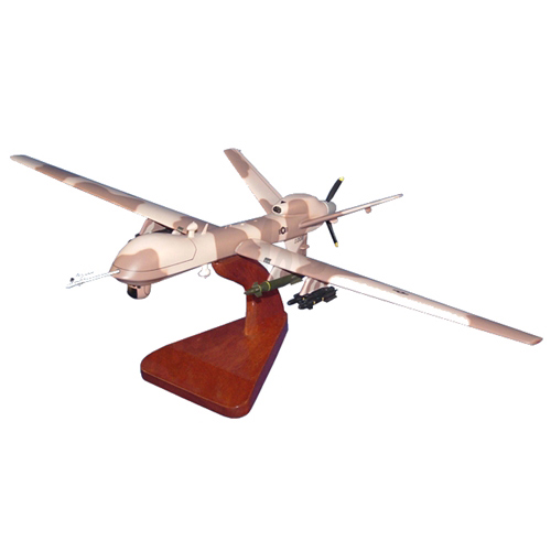 Desert Camo MQ-9 Custom Airplane Model