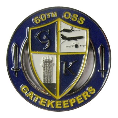 60 OSS Gatekeepers Coin - View 2