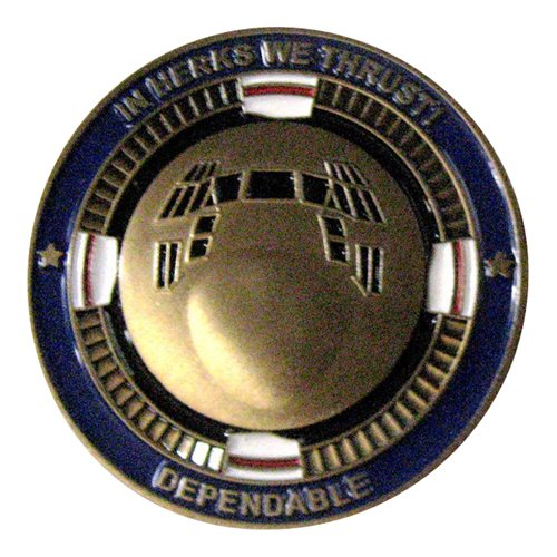 RSAF 122 SQN Challenge Coin  - View 2