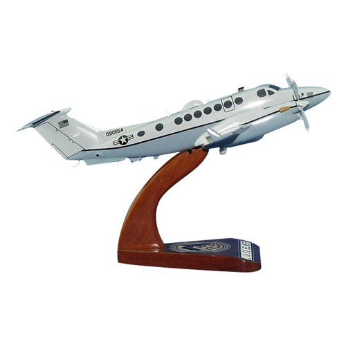 361 ERS MC-12W Custom Airplane Model - View 3
