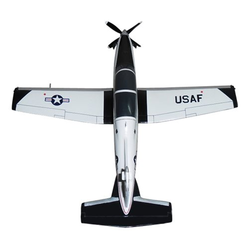 84 FTS T-6A Texan II Custom Airplane Model  - View 5
