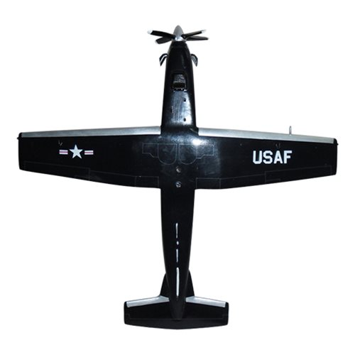 84 FTS T-6A Texan II Custom Airplane Model  - View 6