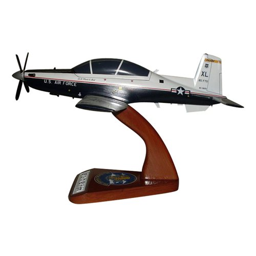 85 FTS T-6A Texan II Custom Airplane Model  - View 2