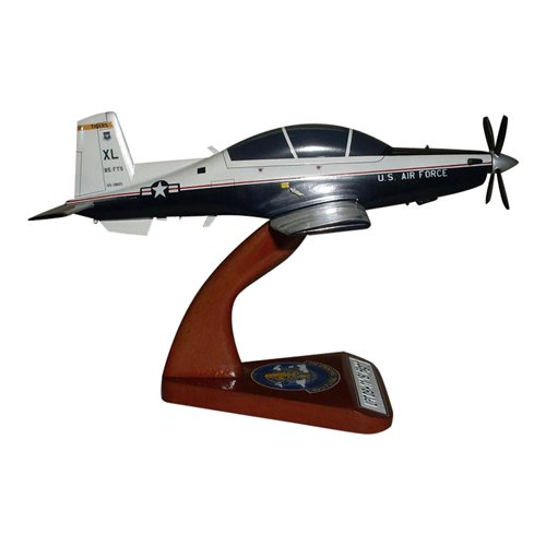85 FTS T-6A Texan II Custom Airplane Model  - View 4