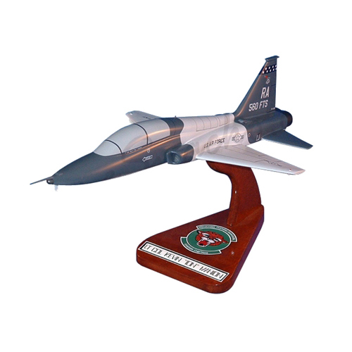 560 FTS T-38C Talon Custom Airplane Model