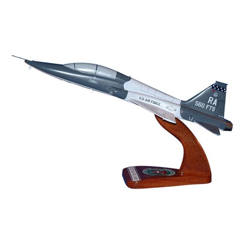 560 FTS T-38C Talon Custom Airplane Model  - View 2