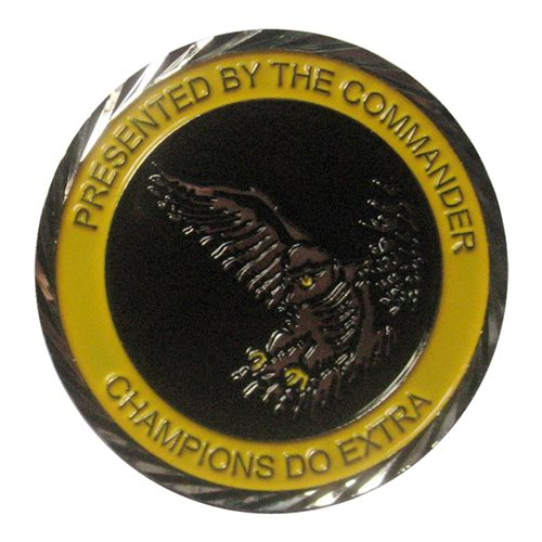 330 CTS JSTARS Commander Challenge Coin