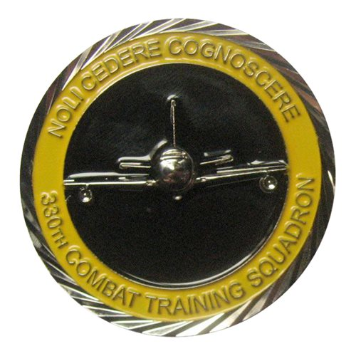 330 CTS JSTARS Commander Challenge Coin - View 2