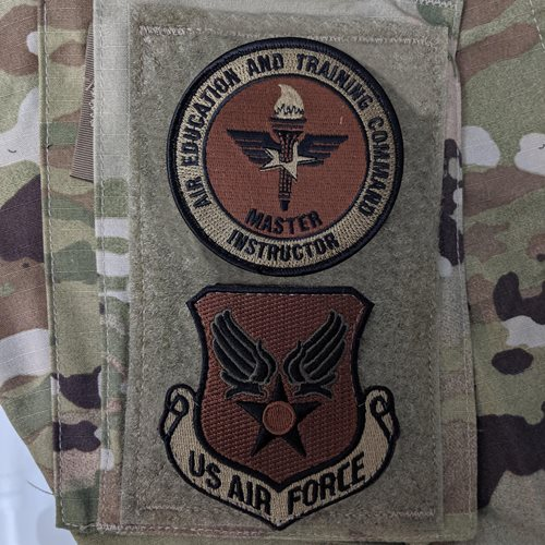 AETC Master Instructor OCP Patch - View 3