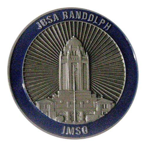 Jbsa Randolph Imso Version 1 Challenge Coin Joint Base