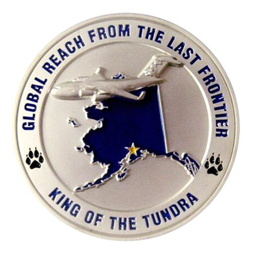 144 AS Commander Challenge Coin - View 2