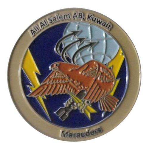 386 AEW ICC Marauders Challenge Coin