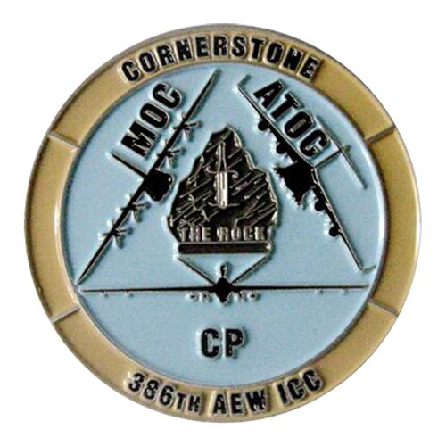 386 AEW ICC Marauders Challenge Coin  - View 2