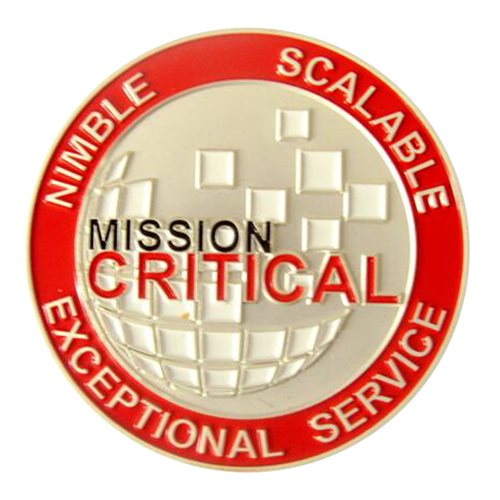 Mission Critical Challenge Coin - View 2