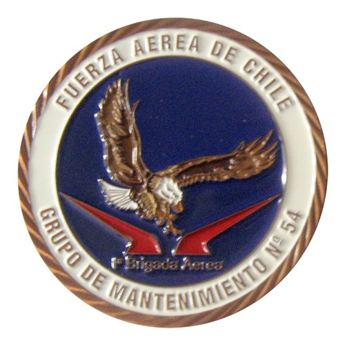 54 AMG CAF Challenge Coin