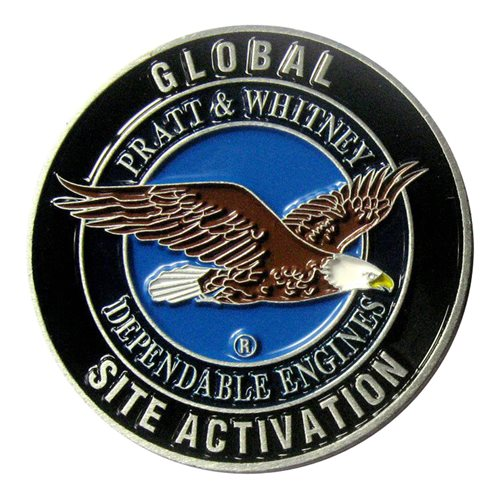 Global Site Activation challenge coin