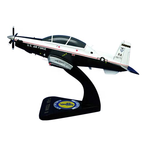 558 FTS T-6A Texan II Custom Airplane Model  - View 2
