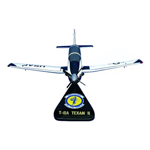 558 FTS T-6A Texan II Custom Airplane Model  - View 3