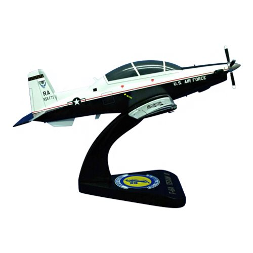 558 FTS T-6A Texan II Custom Airplane Model  - View 4