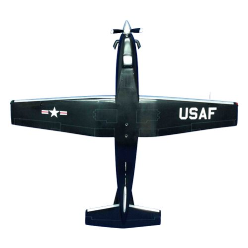 558 FTS T-6A Texan II Custom Airplane Model  - View 5