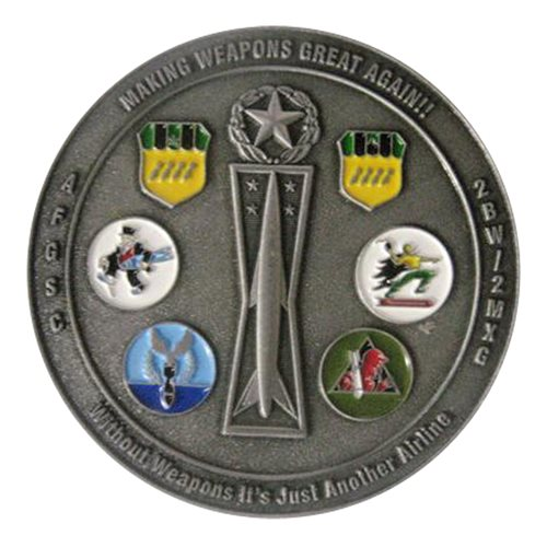 2 BW Challenge Coin - View 2