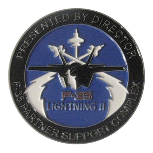 F-35 PSC Challenge Coin - View 2