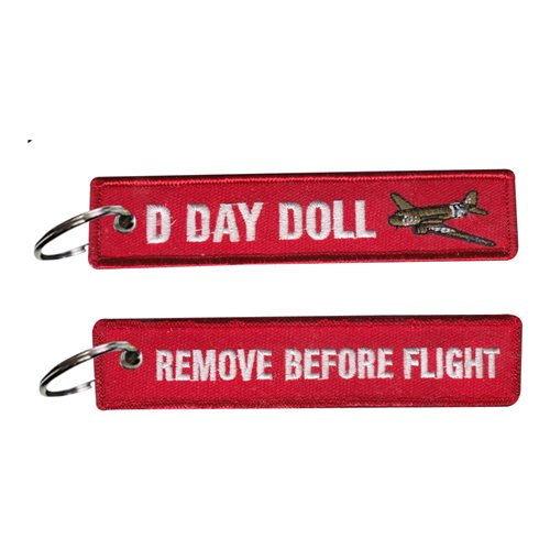 CAF Inland Impire Wing D Day Doll Girl Key flag