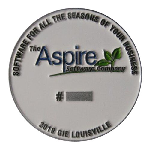 Aspire F-22 Debrief to win coin